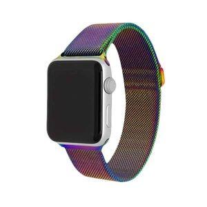 Small rainbow Apple Watch band